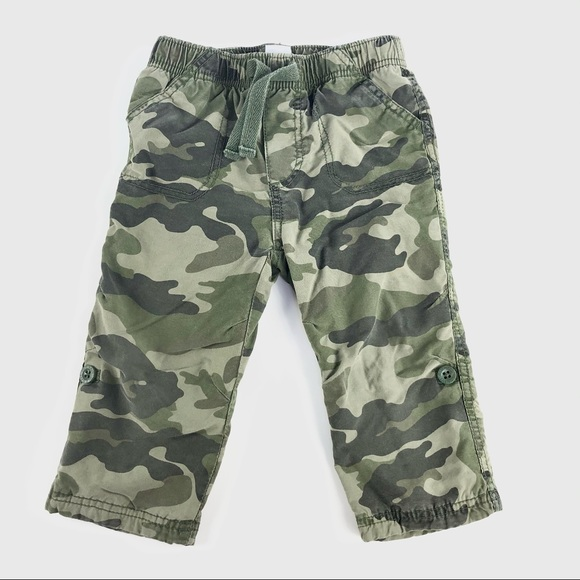 Camouflage lined pants